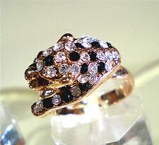 Fantastic Black Spot Leopard Ring Size 6, 7, 8 Adjustable