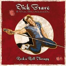CD*DICK BRAVE & THE BACKBEATS**ROCK'N'ROLL THERAPY***NAGELNEU & OVP!!
