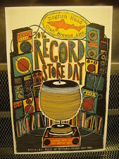 DOGFISH HEAD BREWING Co DE ~ RSD Record Store Day 2016 Poster Print ~ Beer Sign