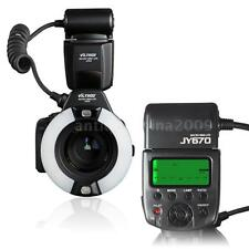 Viltrox JY-670 Professional Macro Ring Flash Light Lite for Nikon Canon Camera