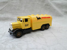 CAMIONS D ANTAN CORGI, SCAMMELL TANKER, PUBLICITE AGIP, VF TOY TRUCK, VEHICLE