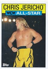 #28 CHRIS JERICHO 2016 Topps WWE Heritage WCW ALL-STAR