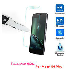 New 100% Genuine Tempered Glass Screen Protector Guard For Motorola Moto G4 Play