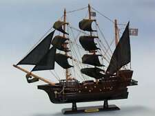 Wooden Blackbeard's Queen Anne's Revenge Model Pirate Ship 20""