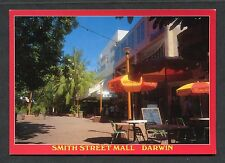 View of Smith Street Mall, Darwin. Stamp/Postmark - 1989