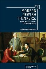 Emunot Jewish Philosophy and Kabbalah: Modern Jewish Thinkers : From...