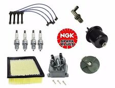Complete Tune Up Kit Filters Cap Rotor NGK Wires & Plugs Honda CRV 1999 to 2001