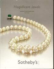 SOTHEBY'S GENEVA JEWELRY Cartier Lesotho Winston Diamond Pearl Catalog 2008