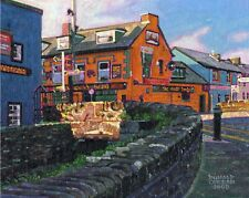 COLOR PRINT OF OIL PAINTING, IRELAND SERIES #202