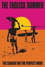 New! The Endless Summer Surfing 24x36 Fine Art Print Poster Home Wall Decor Z181