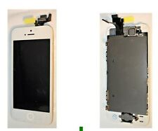 For iPhone 5S White LCD Screen Complete - With Parts Prefitted Apple