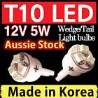 T10 LED 3SMD Car Light Bulbs Lamp 12V 5W Wedge Tail Side Dash Super White