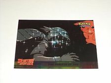#38 The Rebirth of Ash Foil Holo 1999 Topps Pokemon Movie Animation Edition