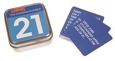 Lagoon Games The Amazing Number 21 Table Top Tin Fun Facts 21st Birthday Gift
