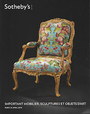 SOTHEBY'S Mobilier XVIIIe French furniture 18th Louis XV XVI Estampille BVRB