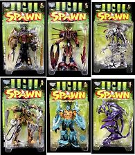 McFarlane Toys Spawn Series 10 Manga Spawn II 6 Action Figure Set 1998