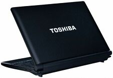 "Toshiba NB500 10.1"" Netbook Pc Computadora portátil Atom N455 1.66GHz 2GB 250GB HDD Windows 7"