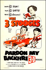 """The 3 Stooges  Movie Poster  Replica 13x19"""" Photo Print"""