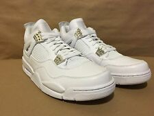 408202-101 Air Jordan 4 Retro Wht/Mtlc Silver 25th Anniversary 10.5 Pure $ 2010