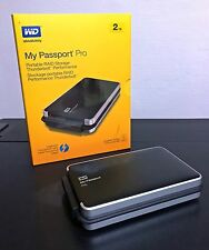 WD My Passport Pro Thunderbolt 2 To (Raid 2 disques portable et autonome)