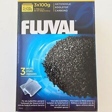 Fluval FX5 105 205 305 405 Canister Filter Carbon 3  100 gram Packs Hagen A-1440