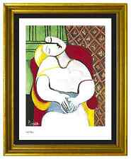 "Pablo Picasso Signed & Hand-Numbered Ltd Edition ""The Dream"" Lithograph Print"