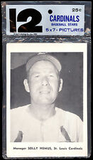 1960'S TEAM ISSUE SET 12 ST LOUIS CARDINALS Photo card unopened Pack Stan Musial