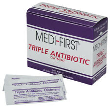 Triple Antibiotic Ointment First Aid 0.5g 75 Packets 3 Boxes by Medi-First