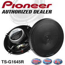 "Pioneer TS-G1645R 6.5"" 2-Way 40W Rms 250W Co-Axial Speaker Direct Fit SPK100"