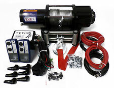 5000lb ELECTRIC TRAILER 12v / ATV WINCH  WIRELESS REM 12v self recovery 4x4