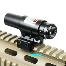Tactical Mounting Crossbow Red Laser Sight Scope Barrel mount for Bow Gun Rifle