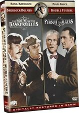 Hound of the Baskervilles/Pursuit to Algiers (2009, DVD NEUF)
