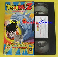 film VHS cartonata DRAGONBALL Z 7 Il frutto magico di re yammer (F70) no dvd
