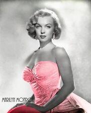 Marilyn Monroe -  Marilyn in pink dress, Colorized