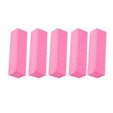 5Pcs Buffing Buffer Block Files Acrylic Pedicure Sanding Manicure Nail Art Tip