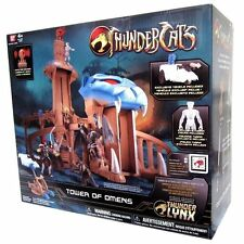 Bandai Thundercats Tower Of Omens Castle Deluxe Playset Action Figure+Tygra