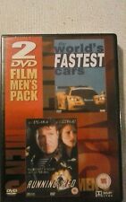 The Worlds Fastest Cars / Running Red. (2 x film pack) Brand new still sealed.