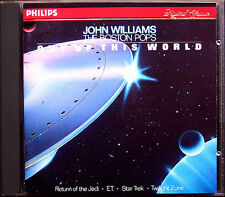 John WILLIAMS & BOSTON POPS OUT OF THIS WORLD Star Trek Alien Return of Jedi CD