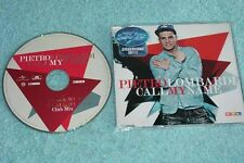 Pietro Lombardi Maxi-CD Call My Name - 2-tr. V.2 CLUB M Bohlen of Modern Talking