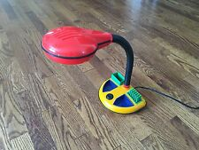 Vintage Retro Goose Neck Flex Arm Blue Red Green Yellow Desk Lamp Light - Works