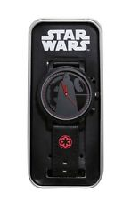 Star Wars Disney Darth Vader Rogue One Faux Leather Band Watch Gift New In Tin!
