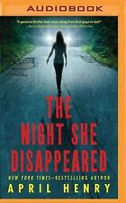 The Night She Disappeared by April Henry (2016, MP3 CD)