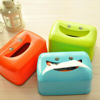 Plastic Smile Tissue Case Pumping Paper Holder Paper Box Cover Car Bedroom New