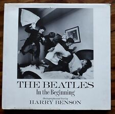In The Beginning The Beatles Book Harry Benson 1964 tour Photographs HB 1st ed