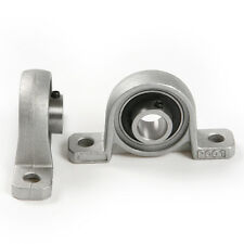 2pc Zinc Alloy Diameter 8mm Bore Ball Bearing Pillow Block Mounted Support Kit