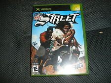 NFL Street XBOX with Book (Microsoft Xbox, 2004) FREE SHIPPING