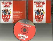 MARILYN MANSON Tainted Love SOFT CELL remake Cover trk PROMO DJ CD Single 2001
