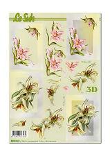 Toller LeSuh 3D Motivbogen Etappenbogen 3D Bild  Lilien (091)