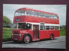 POSTCARD BUS TRAM LEYLAND TITAN PD2A/47 BUS JTF 217F AT LEYLAND TEST TRACK