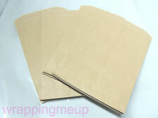 100 5x7 Cute Natural Kraft Paper Bags, Craft Bags, Wedding Party Bags, Gift Bags